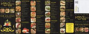 Pizzalo* menu preview
